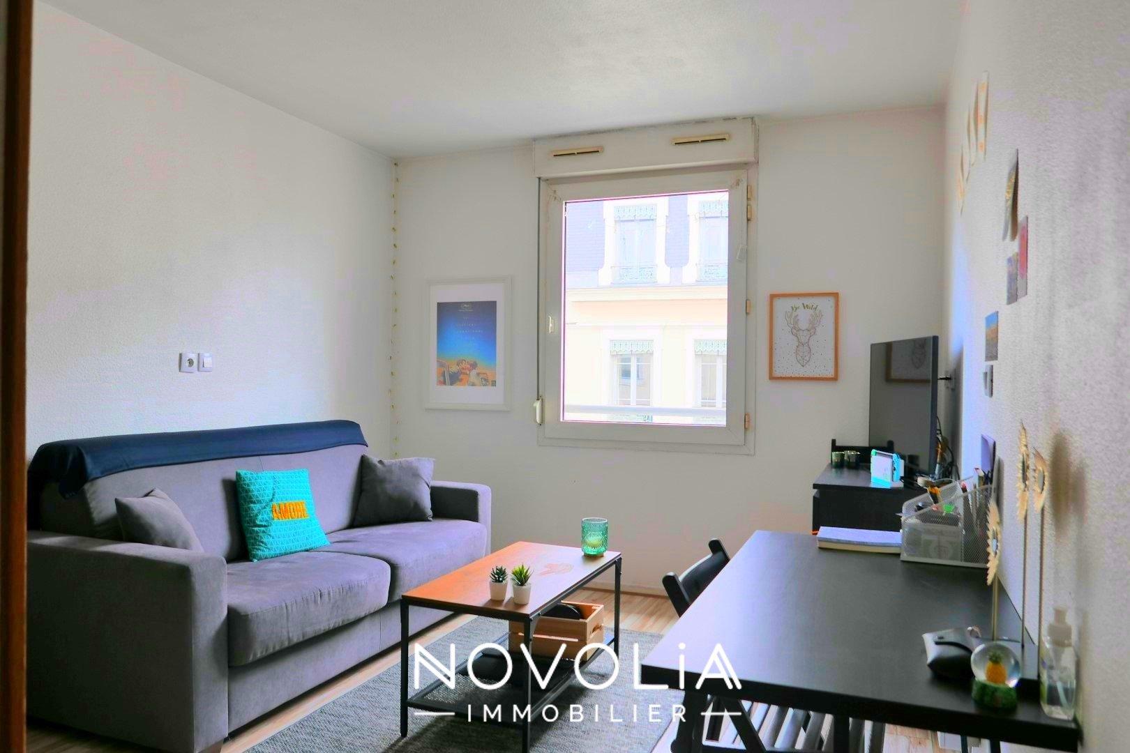 Achat Appartement Surface de 18.26 m²/ Total carrez : 18 m², 1 pièce, Lyon 7ème (69007)