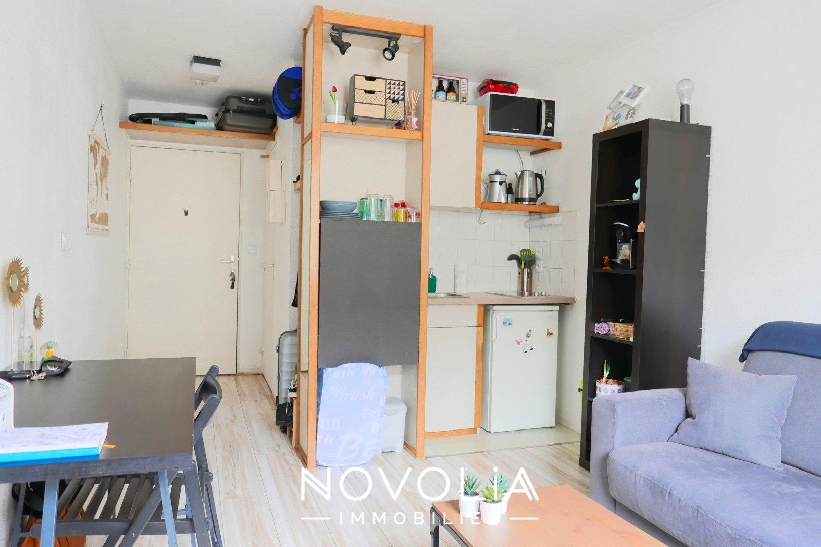 Achat Appartement, Surface de 18.26 m²/ Total carrez : 18 m², 1 pièce, Lyon 7ème (69007)