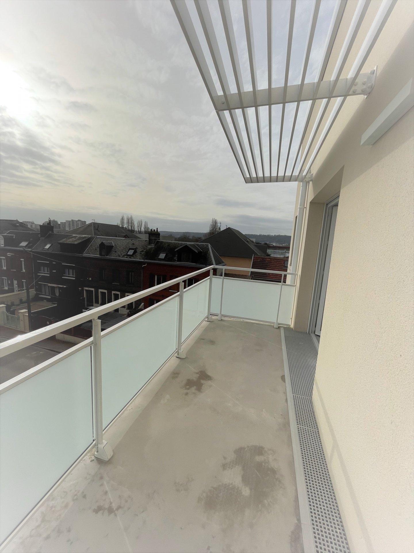 Rés. BEL AMI - T3 avec balcons et parking - limite ROUEN