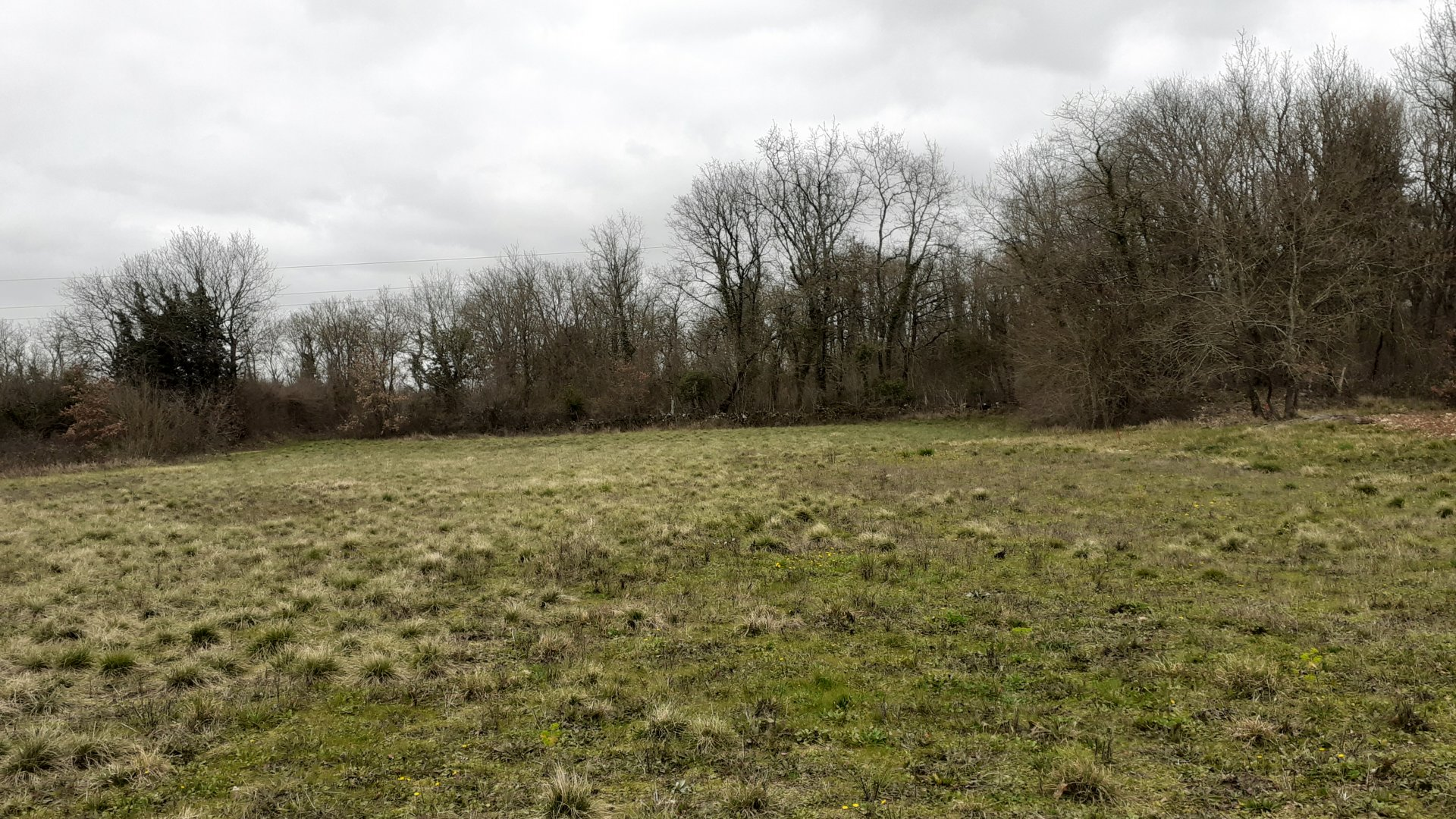 Building land in Nanteuil en Vallée