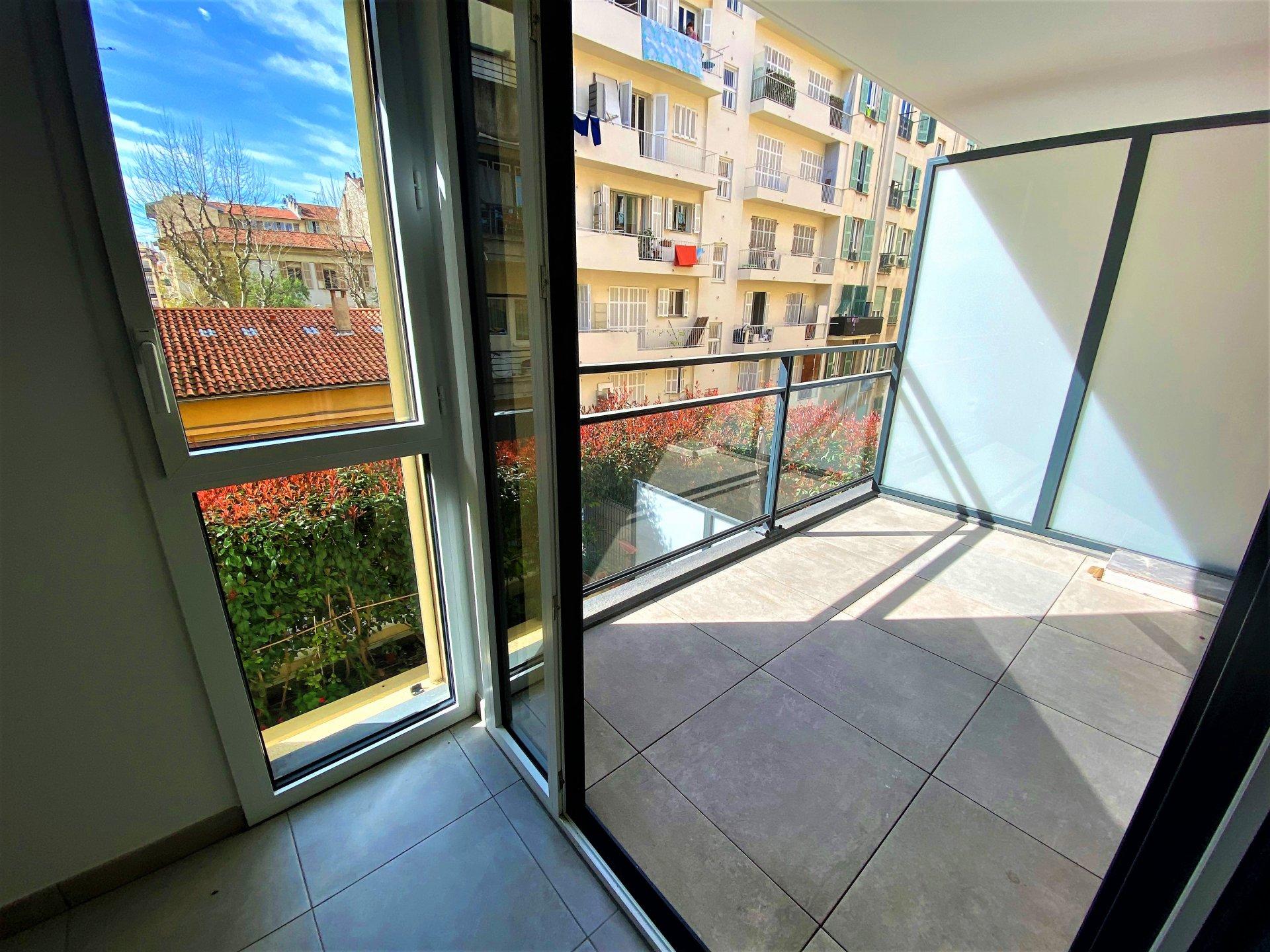 RIQUIER 2P NEUF 42m² + terrasse Sud.