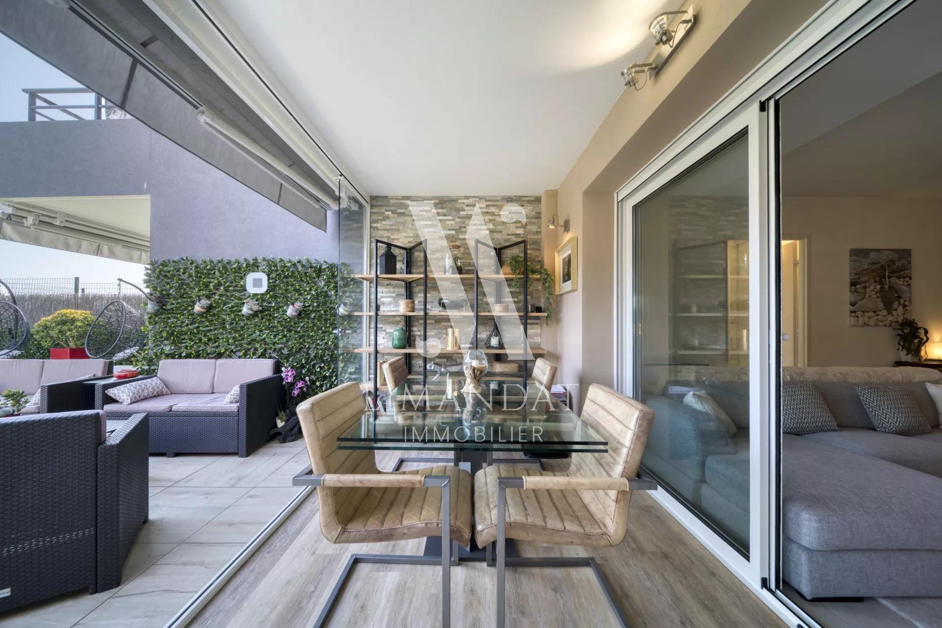 Roquebrune Cap Martin - 3 locali 68 m2 terrazza 34 m2 giardino 44 m2 garage