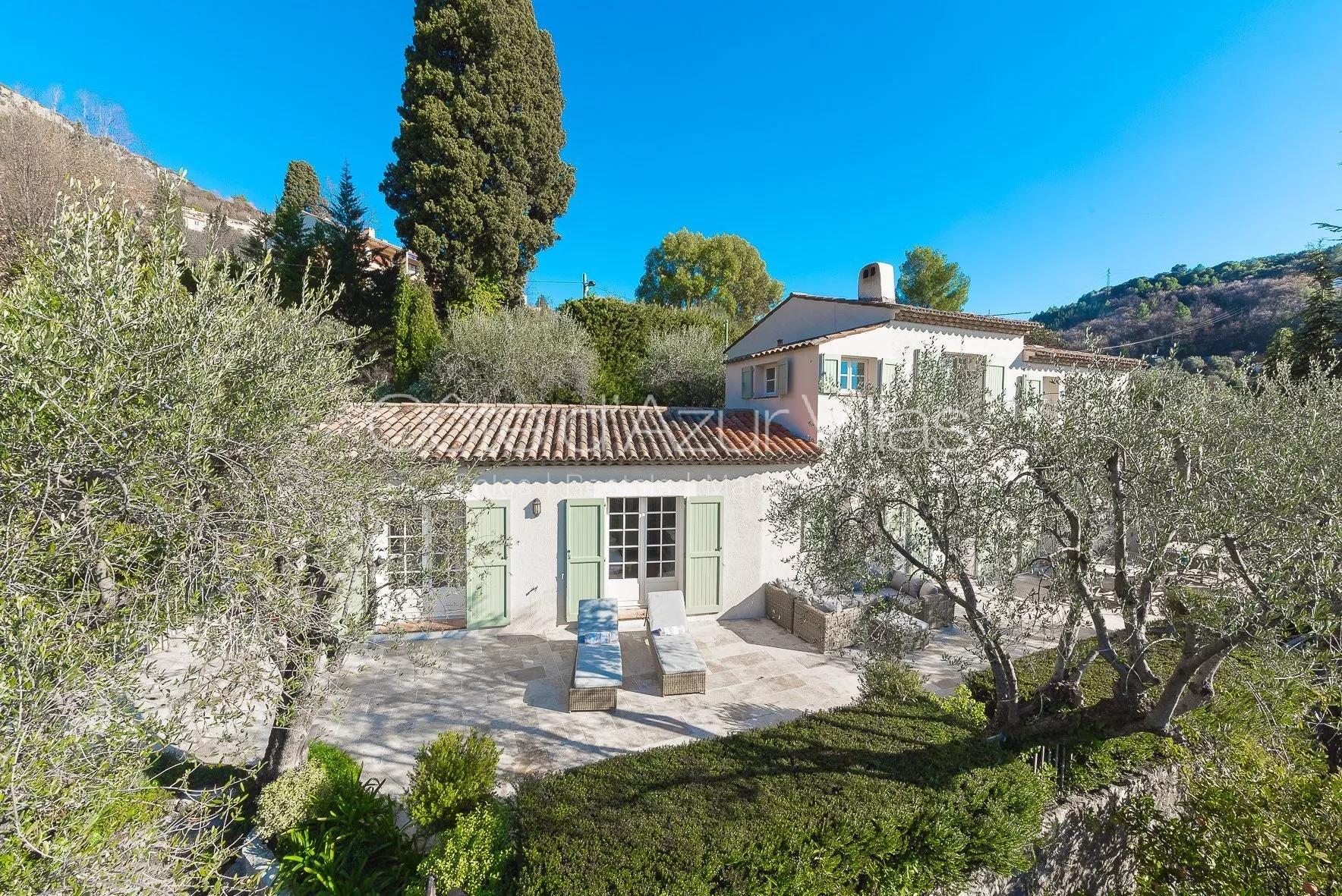 Magagnosc - Belle maison avec vue panoramique collines et Estérel