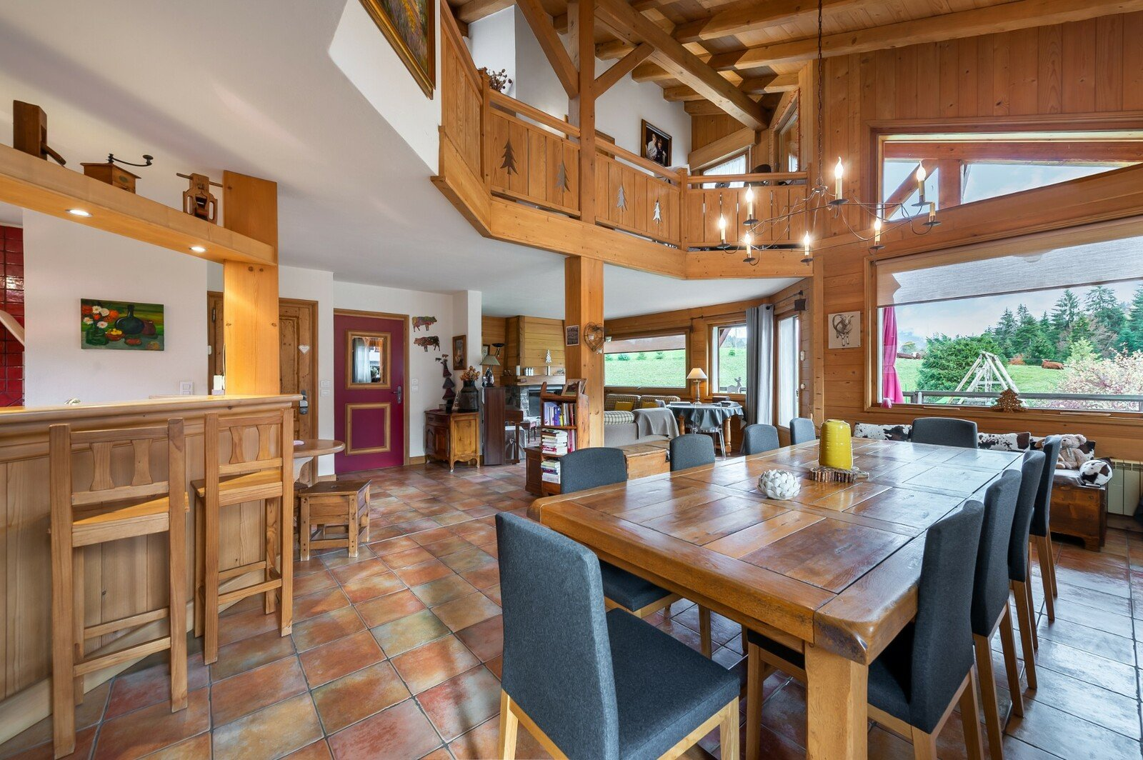 Alpine chalet in Cordon - Megeve area
