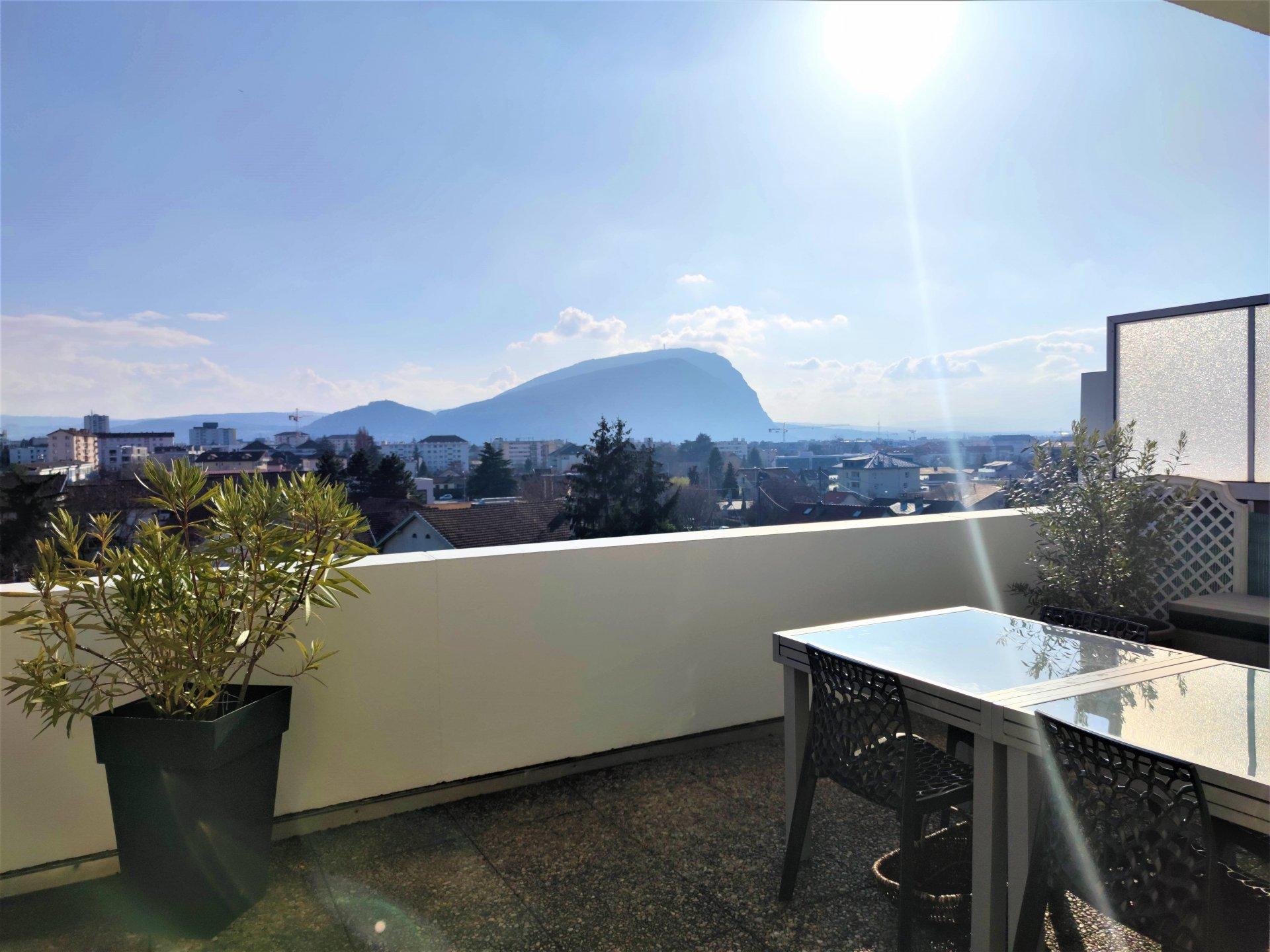 Appartement T2 Attique avec vue panoramique