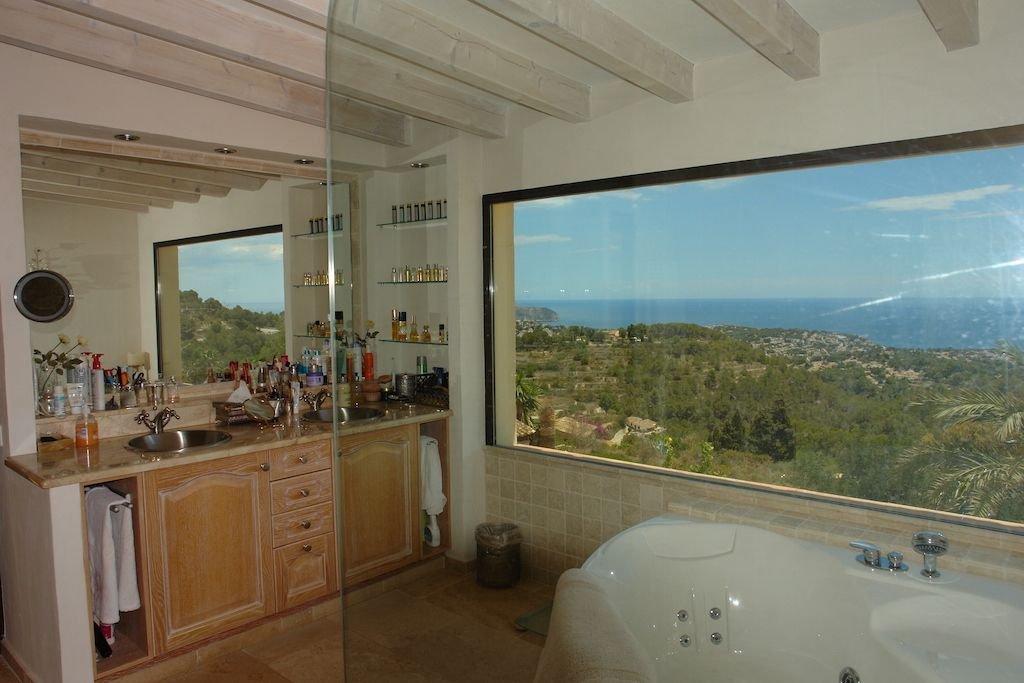 Finca rénovée avec vue panoramique sur la mer