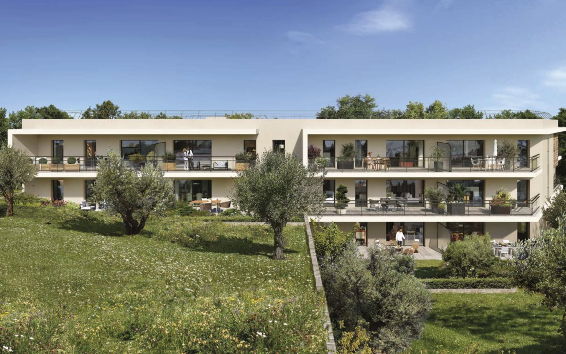 Sale Apartment - Valbonne