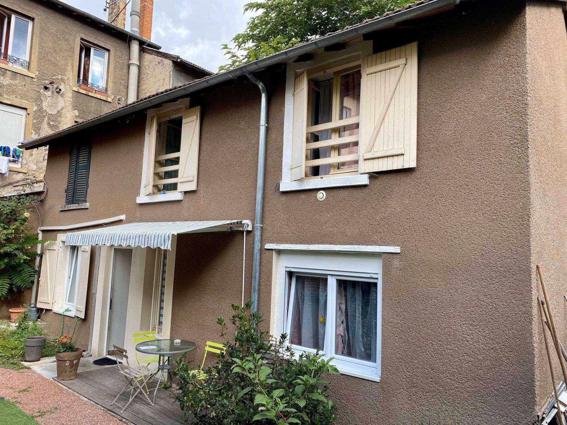 Appartement T4 de 60m² avec un jardin  et une cave