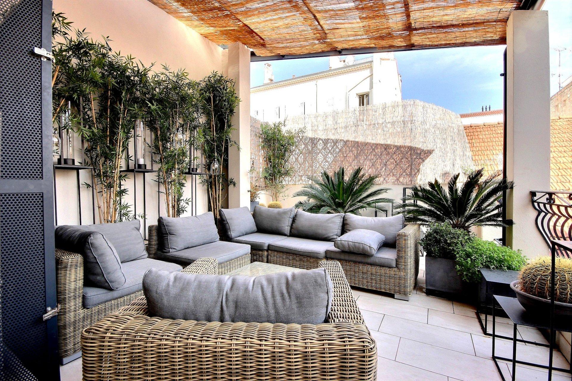 Lyxigt renoverad lägenhet i Cannes Banane