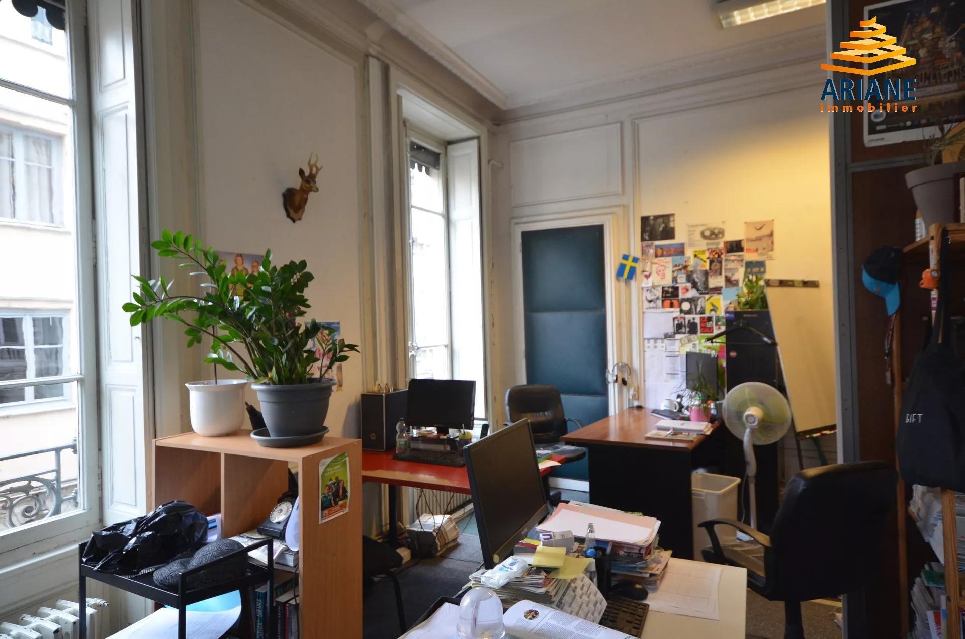 Bureaux à Vendre Lyon 1 Proche rue de la bourse de 189 m2