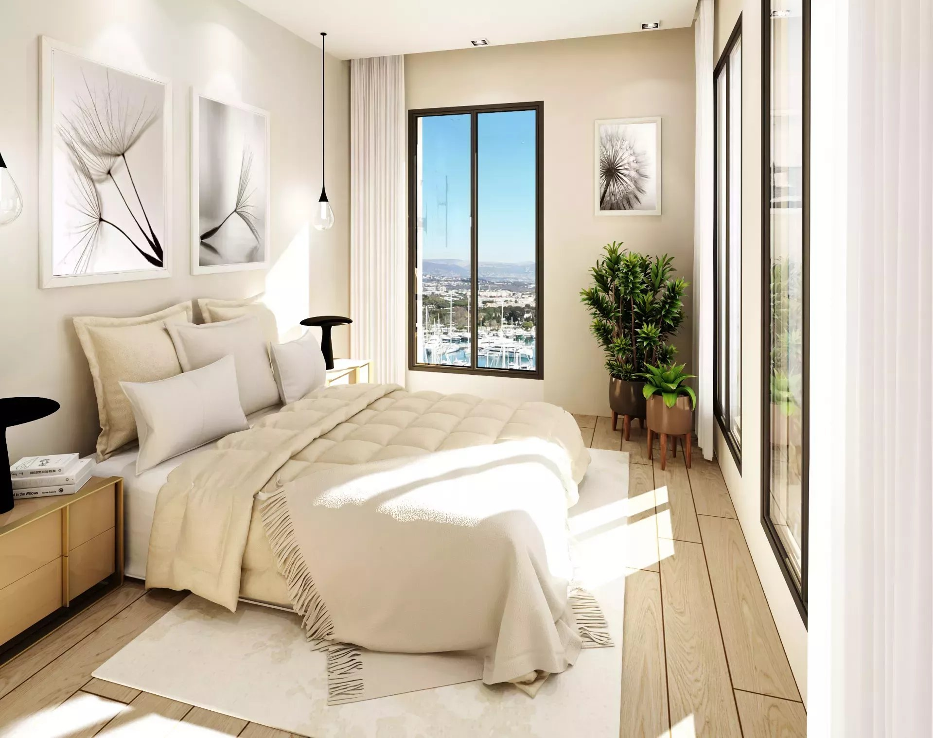 VIEIL ANTIBES PORT VAUBAN - 2P 37m2 Balcony Sea View and Port