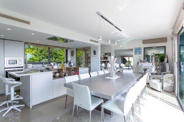 Villa med havsutsikt i Cannes Californie