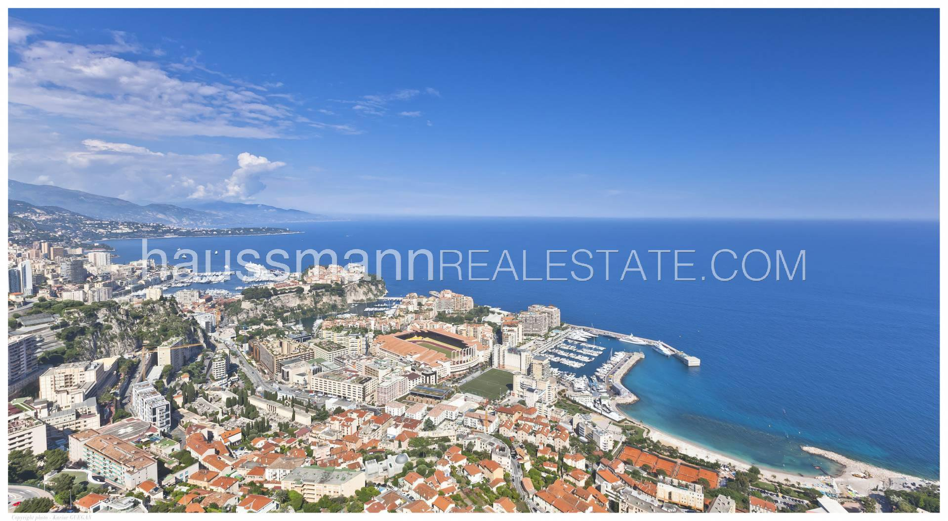 Superb sea view property on the hills of Monaco