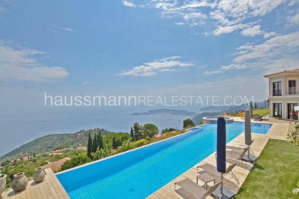 Panoramic sea view villa, Near monaco