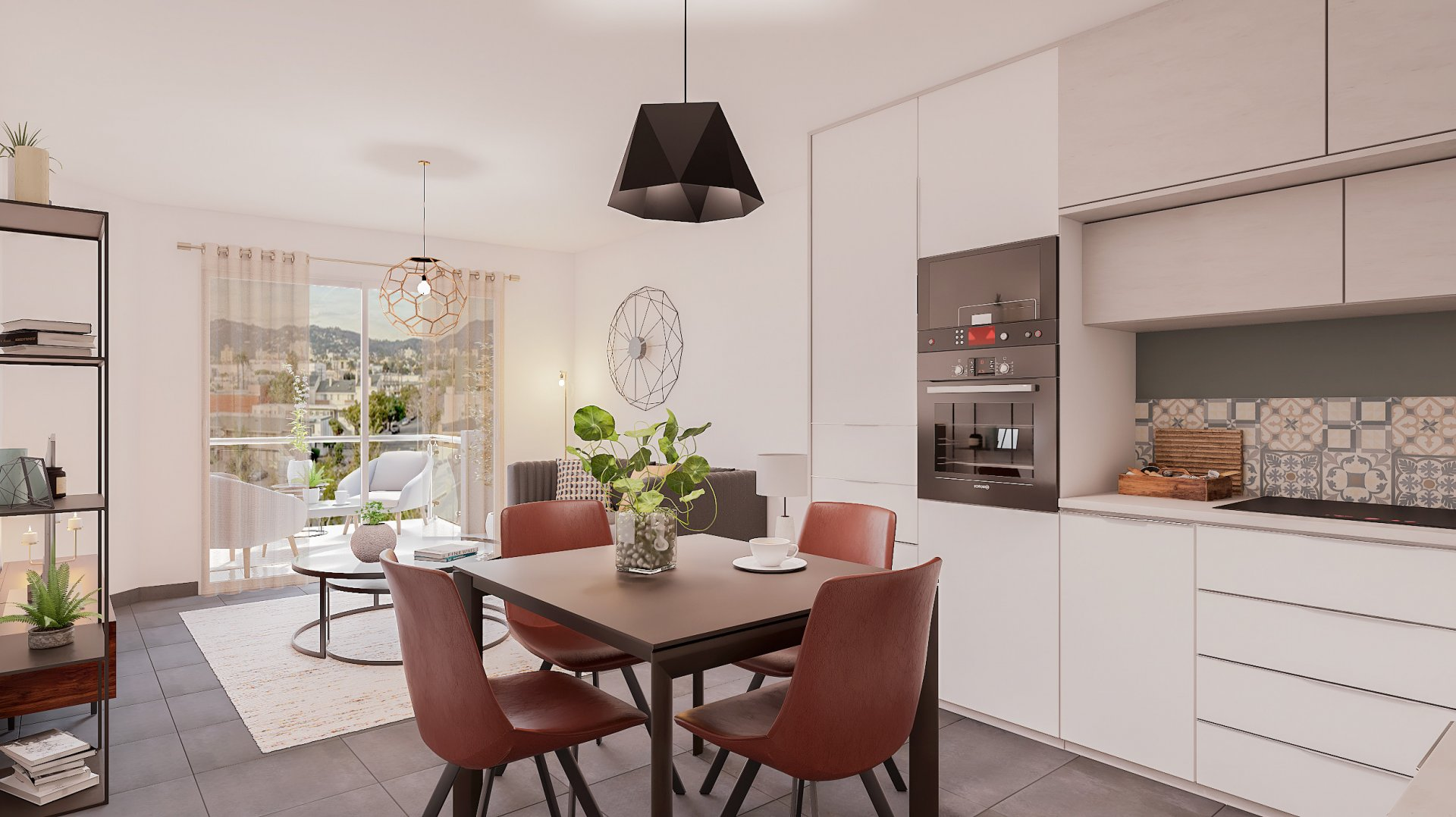 NOTARY FEES OFFERED - New program. St Barthélemy two-bedroom apartment with terrace and possibility of parking