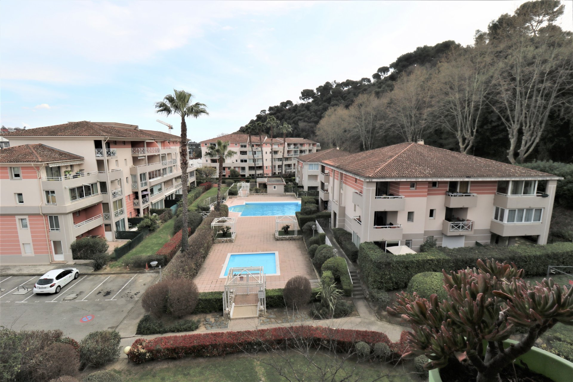 studio /Parking Polygone Riviera Cagnes sur Mer