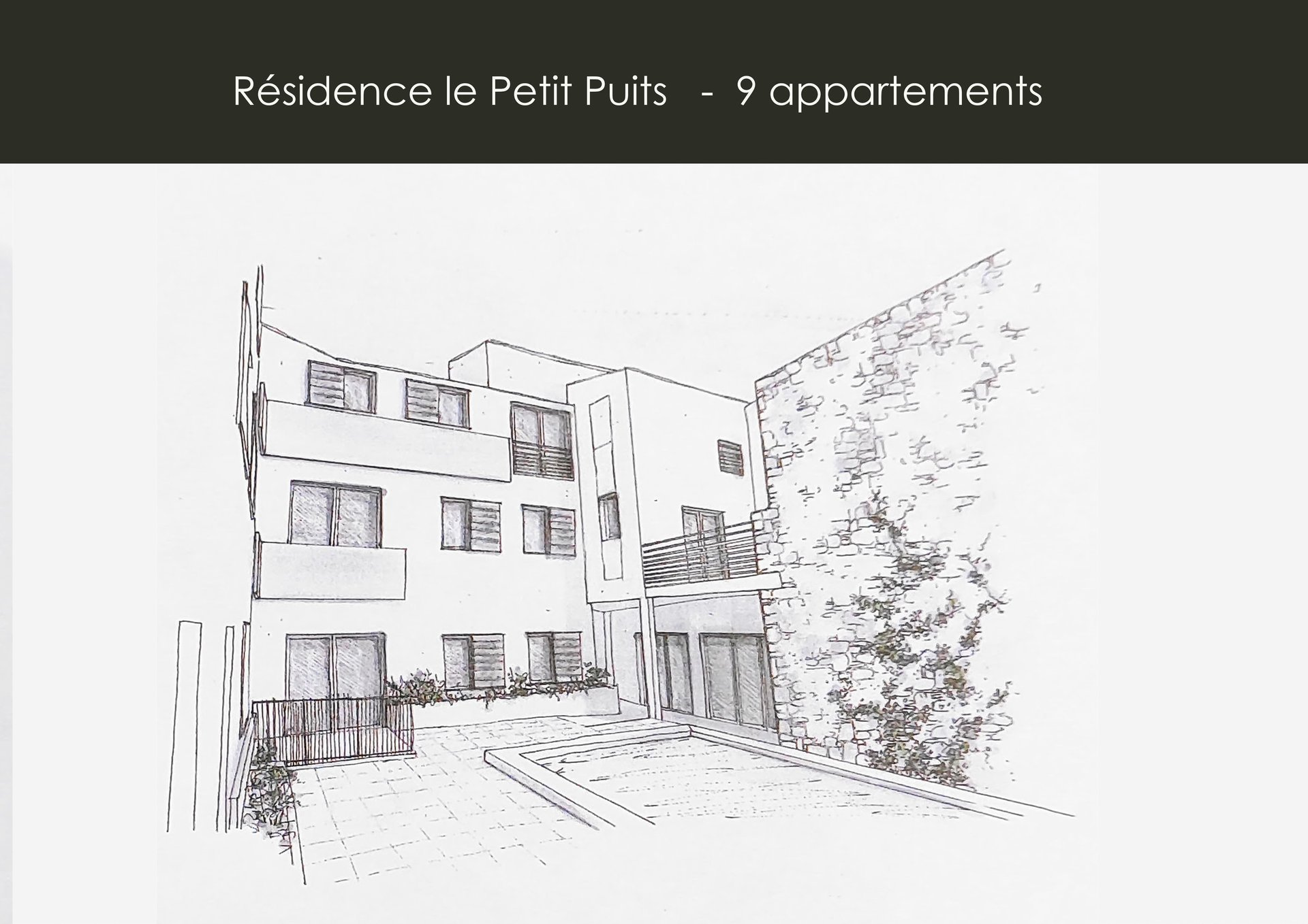 Appartement neuf T3 avec terrasse et piscine