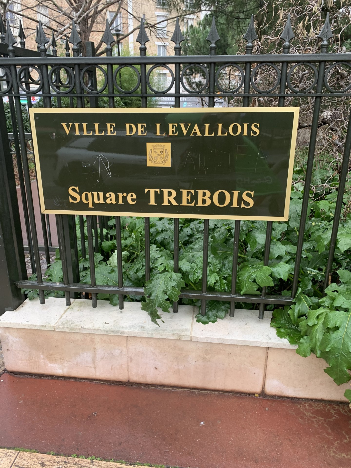 LEVALLOIS PERRET - SQUARE TREBOIS
