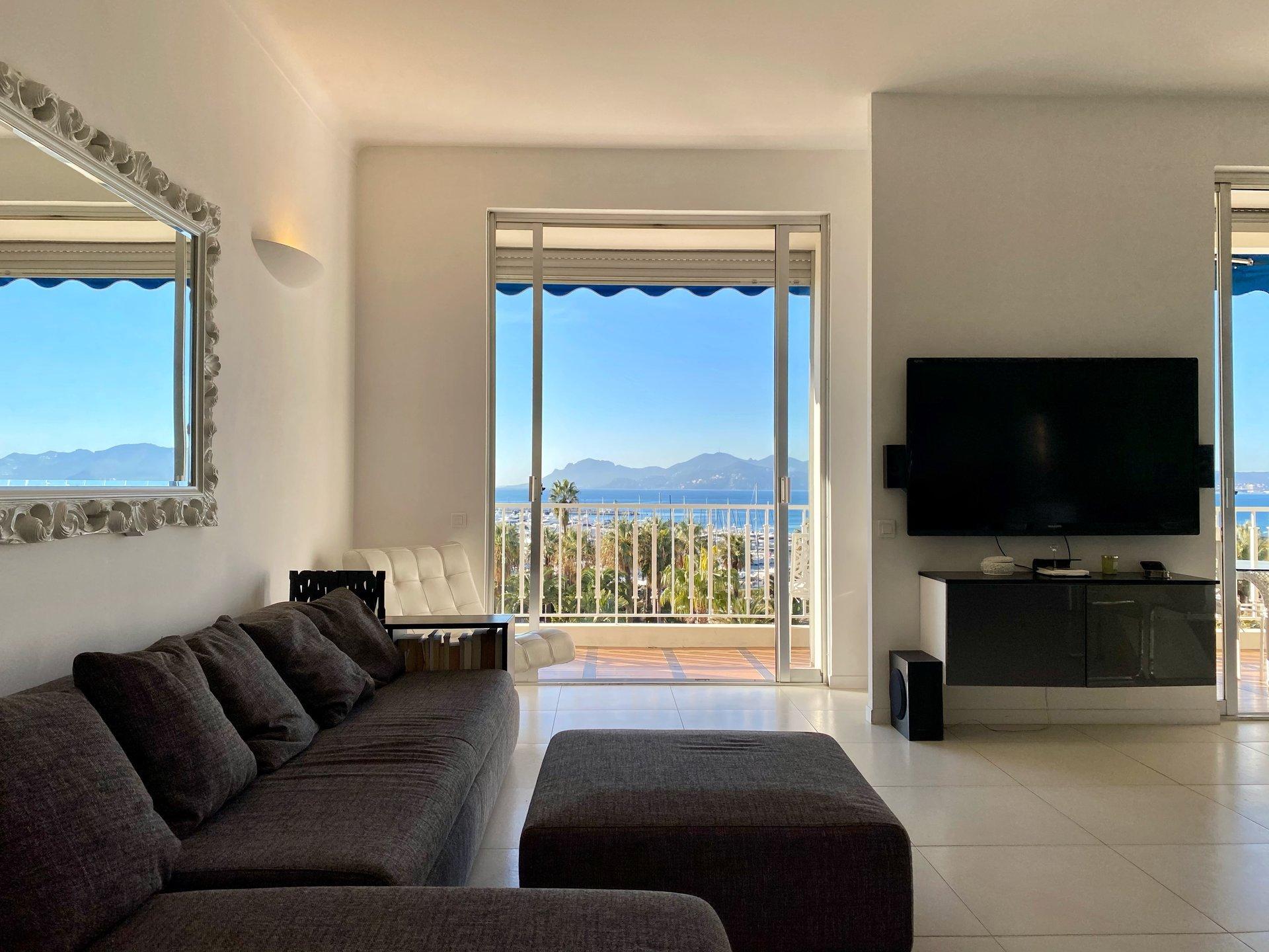 A vendre - 4 pièces vue mer panoramique - Cannes Croisette