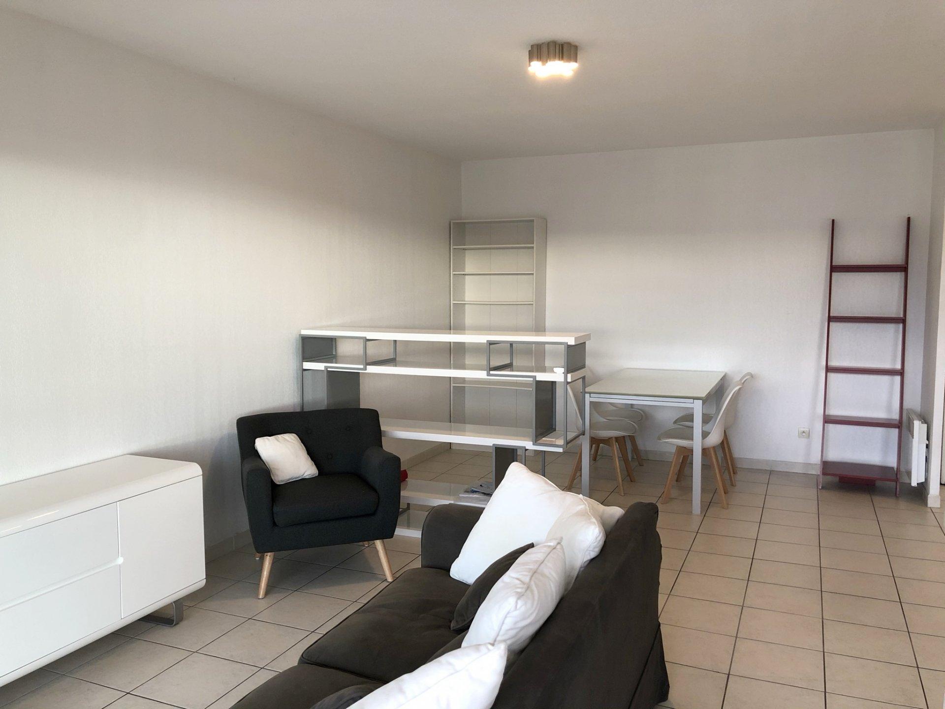 Location Nice, 2 pièces meublé avec garage secteur Corniche Fleurie