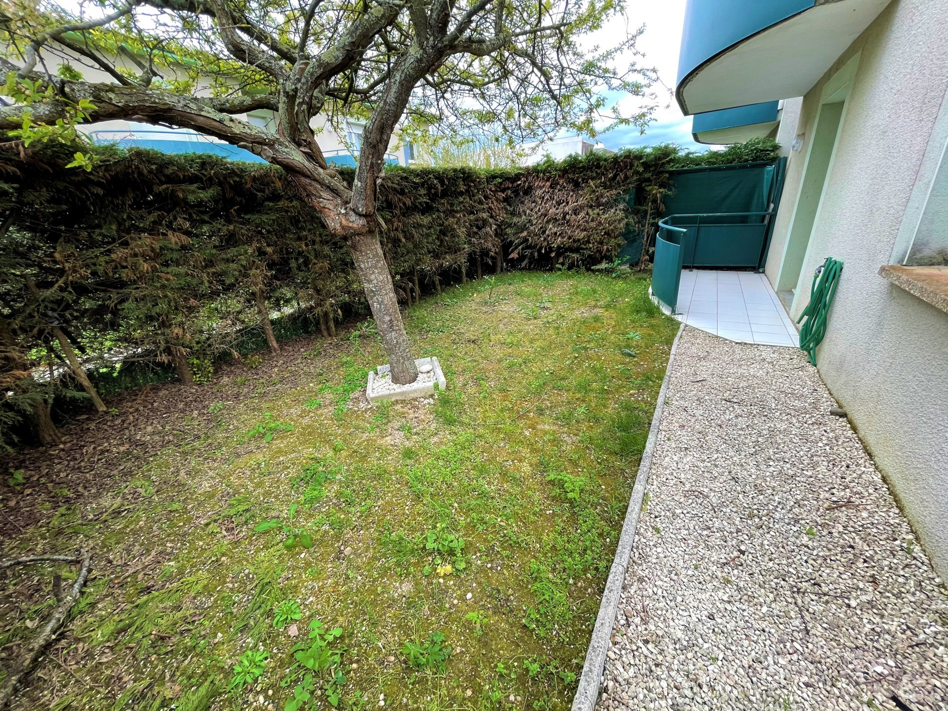 JOLI T2 avec jardin intimiste de 60m²