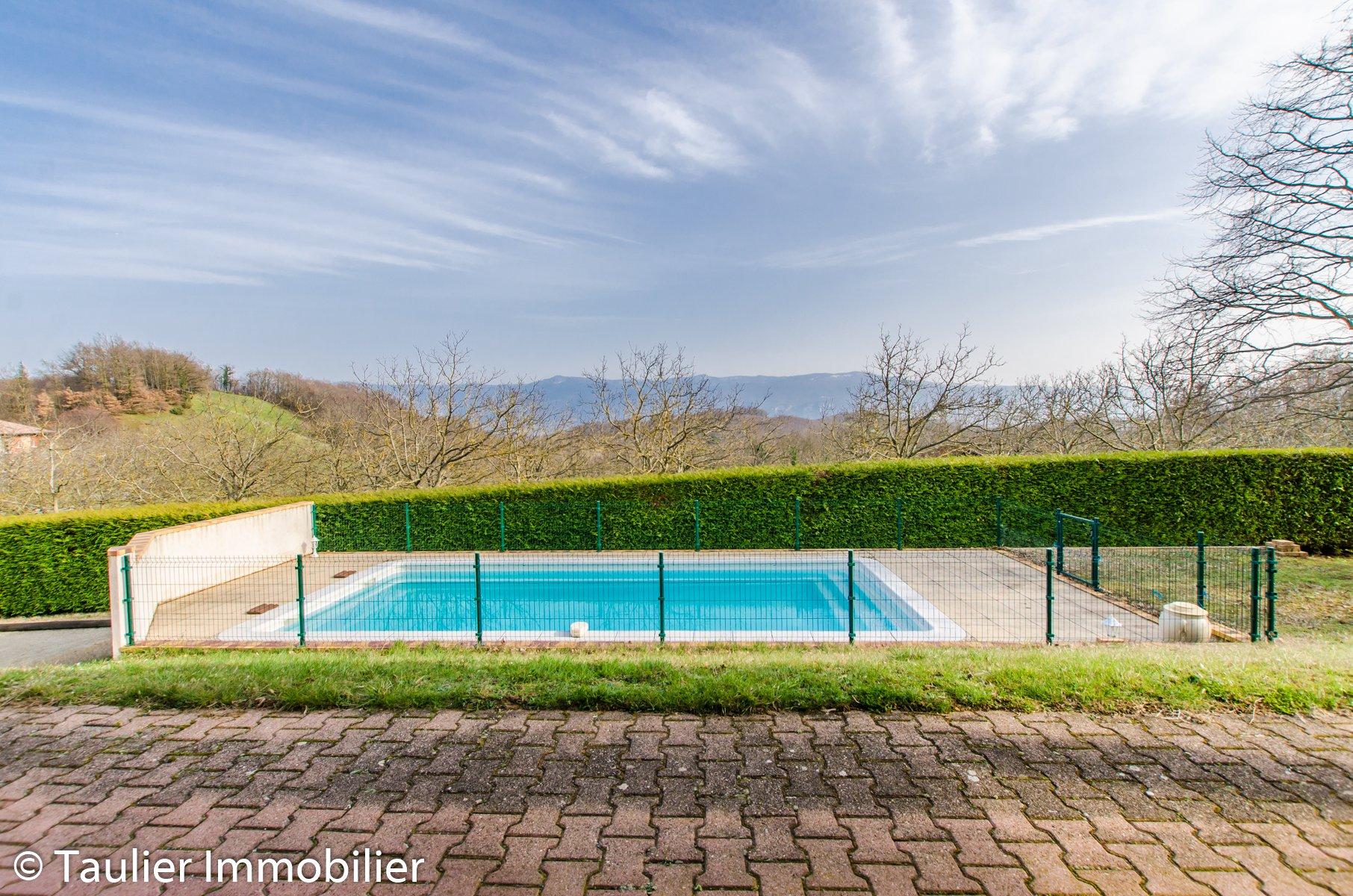 Villa avec piscine et vue sur le Vercors