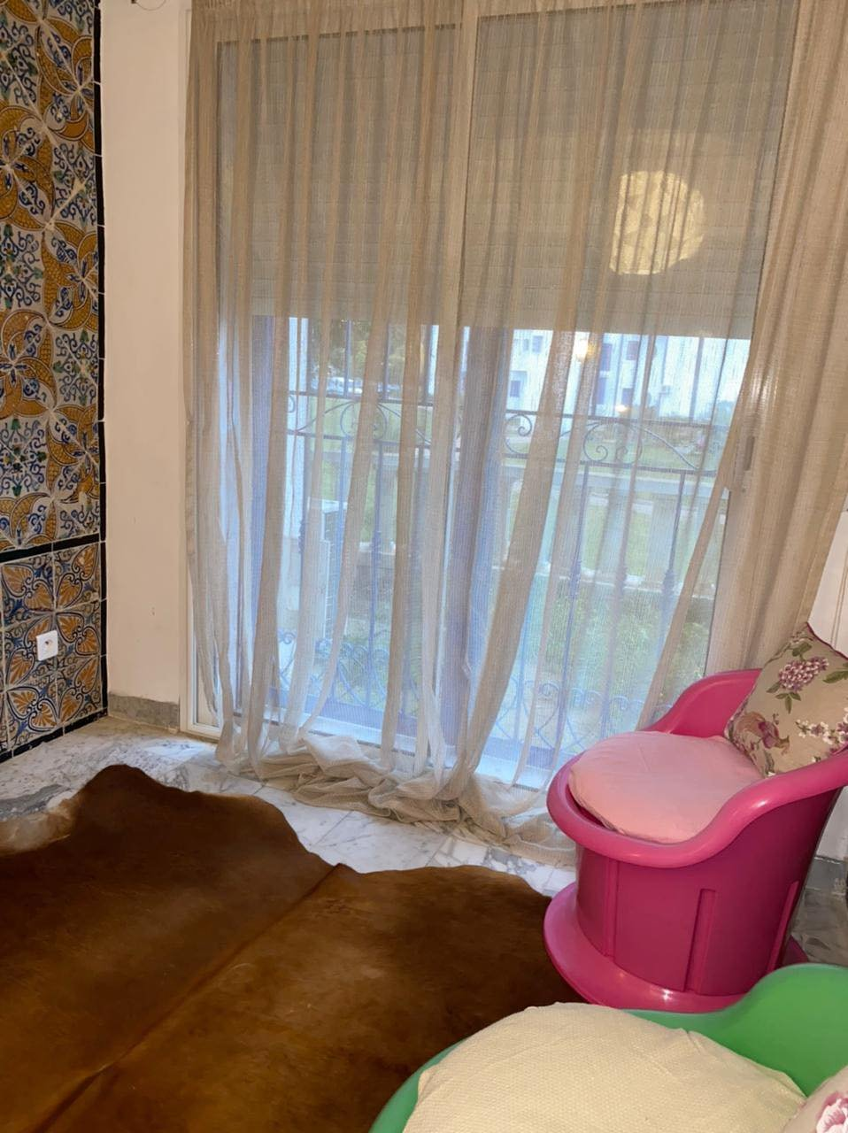 Location Appartement S+2 meublé au Gammarth.