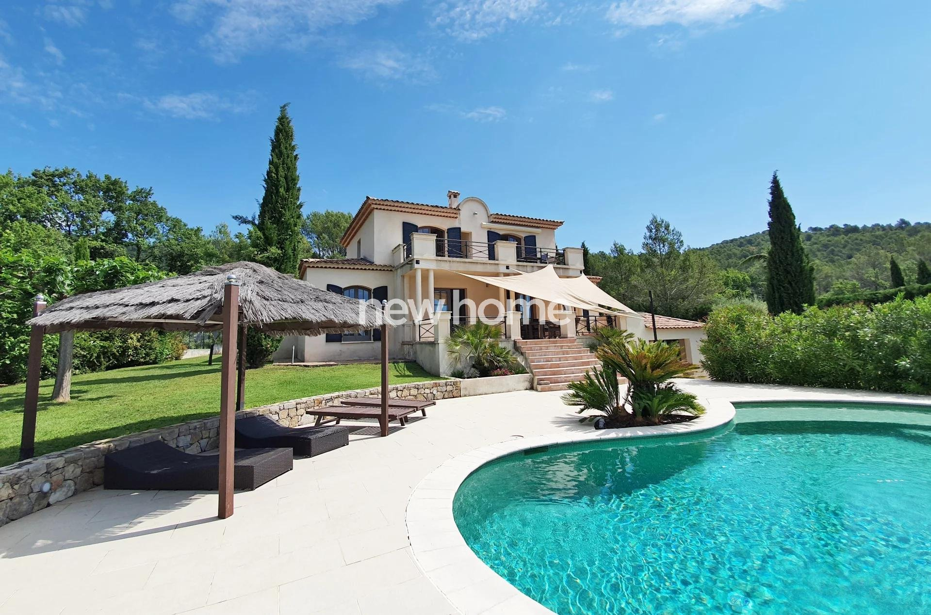 3D VIRTUAL VISIT ON OUR WEBSITE - Seillans: property with pool