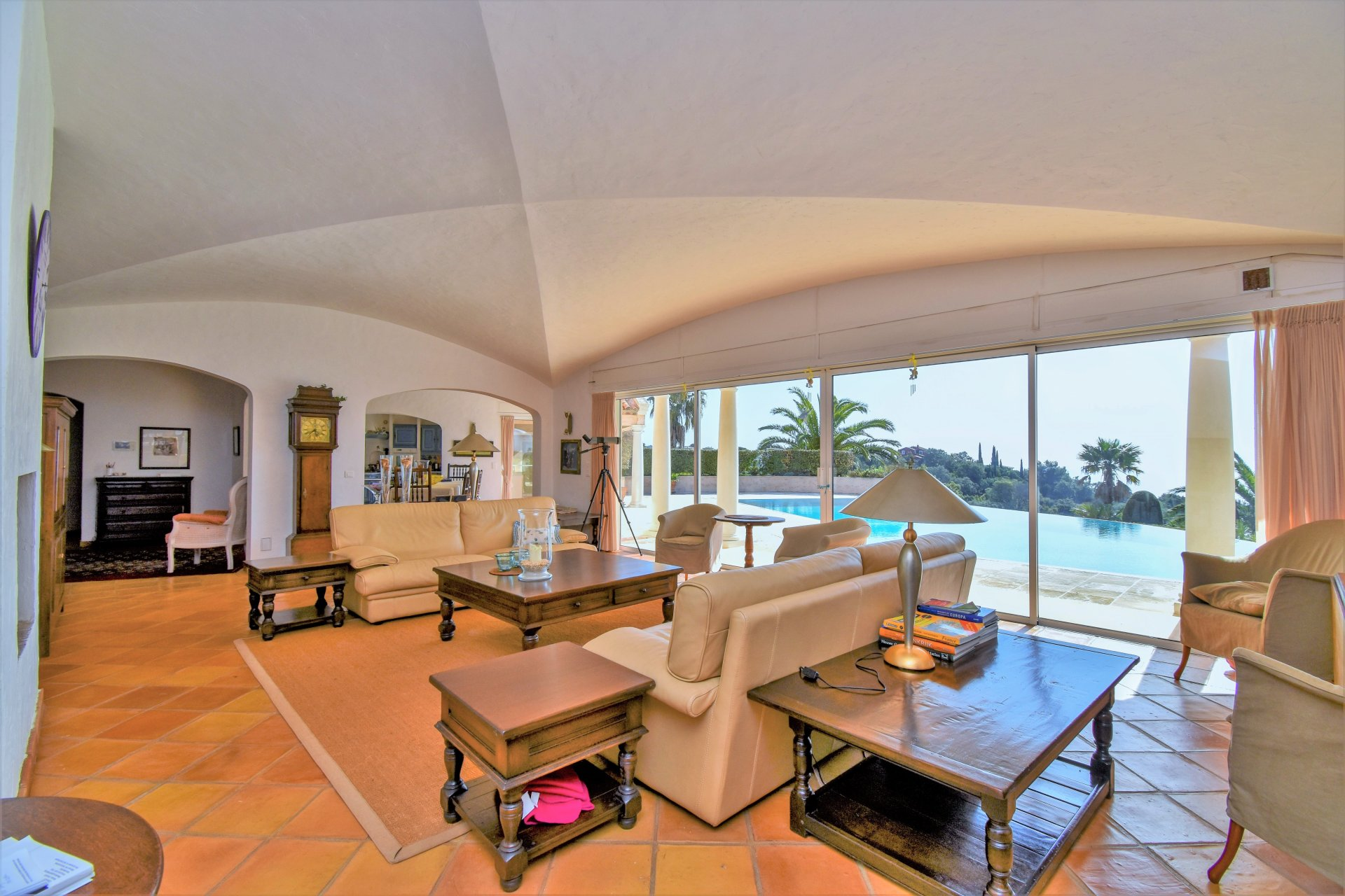 Villa Sainte Maxime with panoramic sea view