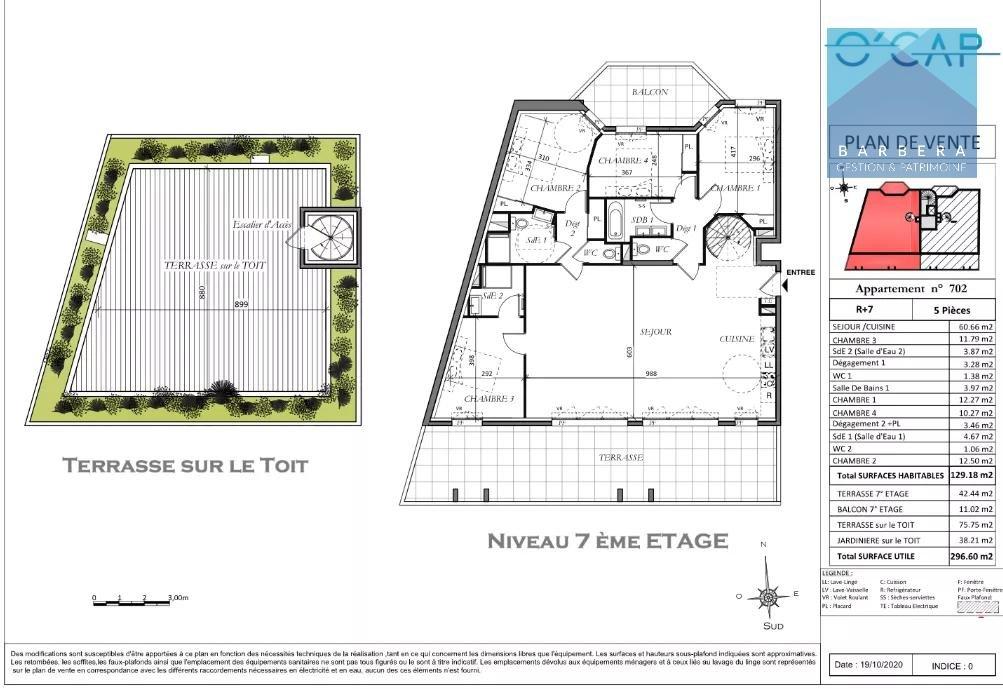 Programme appartement 129 m²