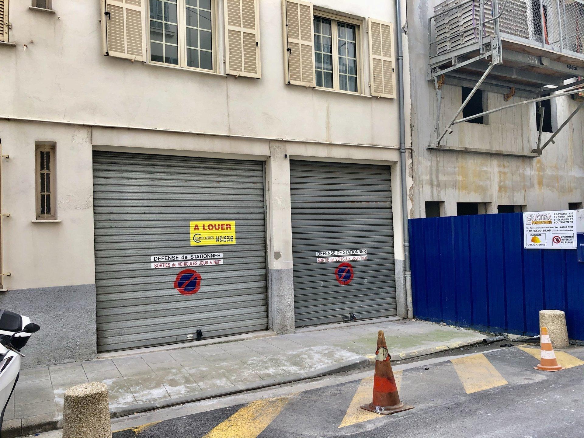 vente Nice, entrepôt 51m² secteur bas Saint Roch