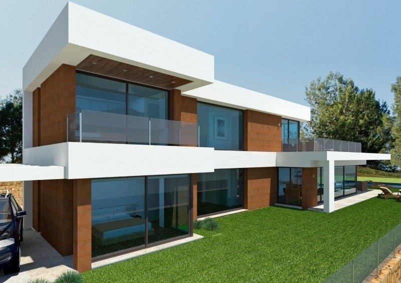 Villa neuve de 3 chambres à Javea