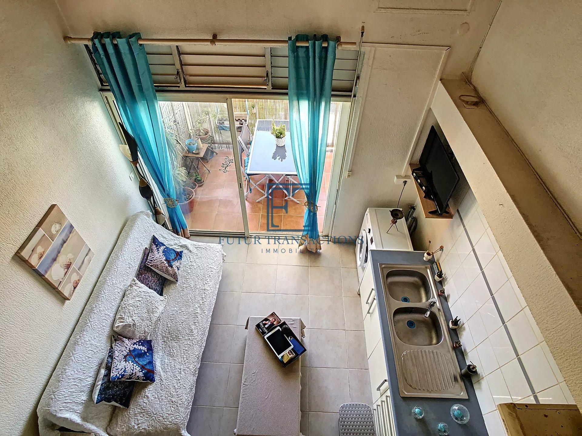 Saint François duplex 35 m2