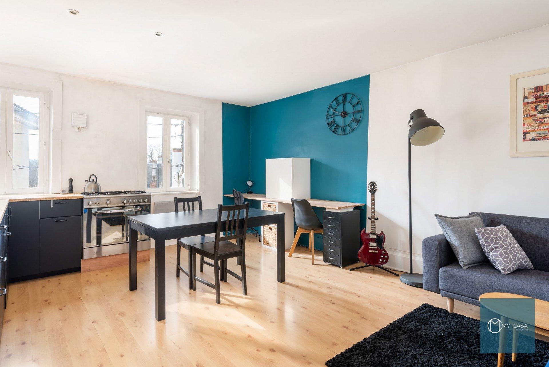 COLLONGES - Joli T2 de 54 m2 avec Jardin de 165 m2