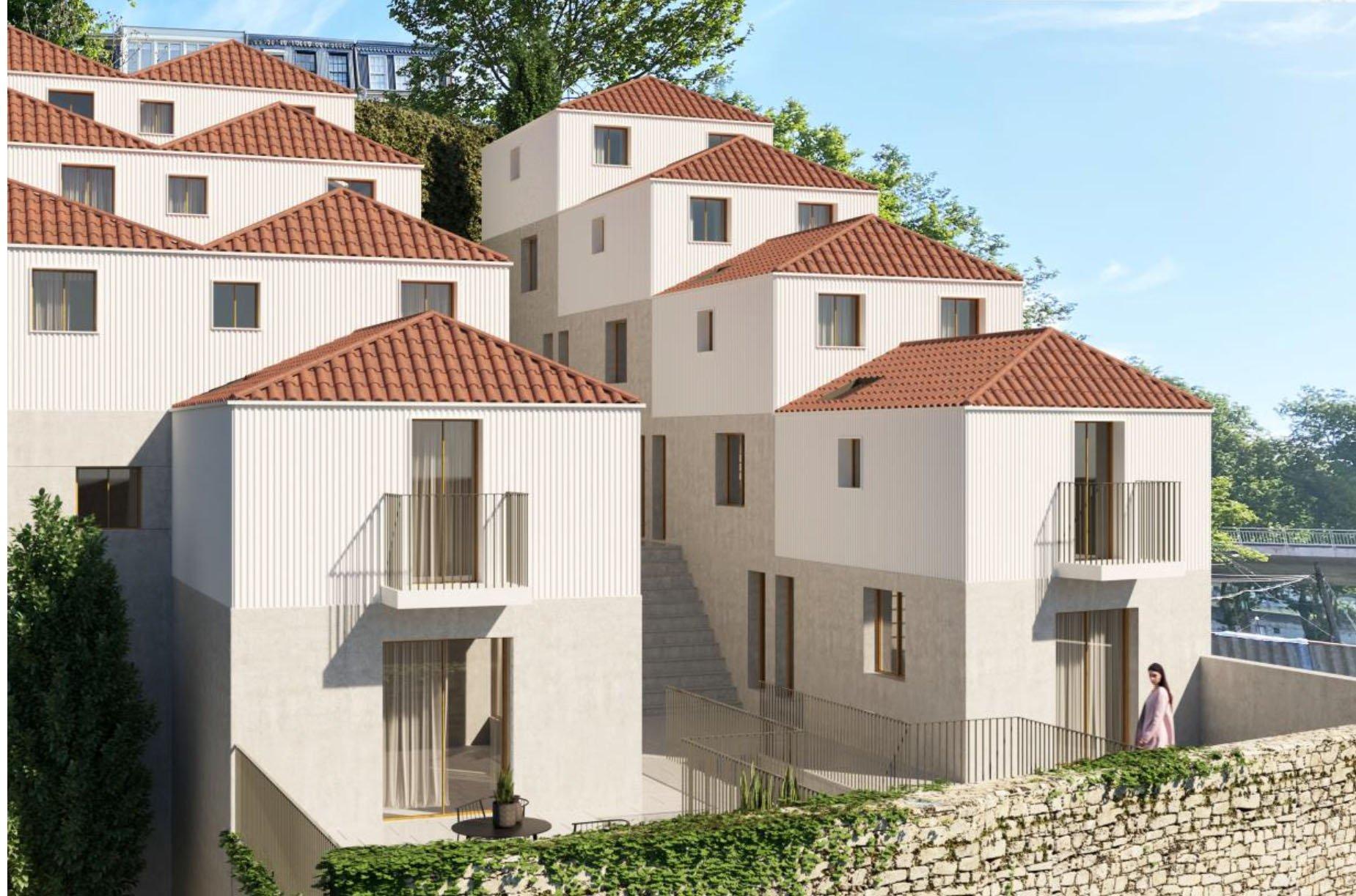 Centre de Porto, terrain avec projet approuvé