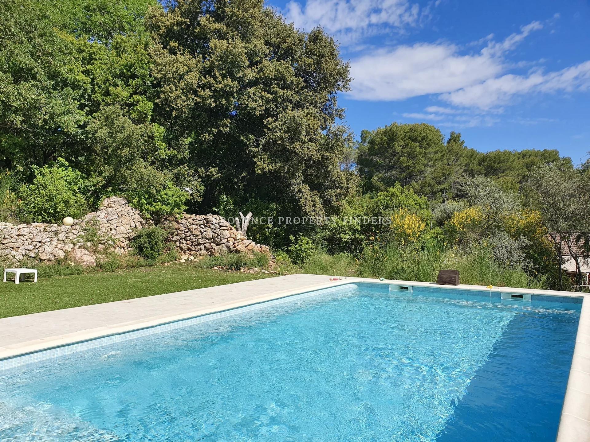 Villa à Lorgues a vendre, 3 chambres, Piscine.