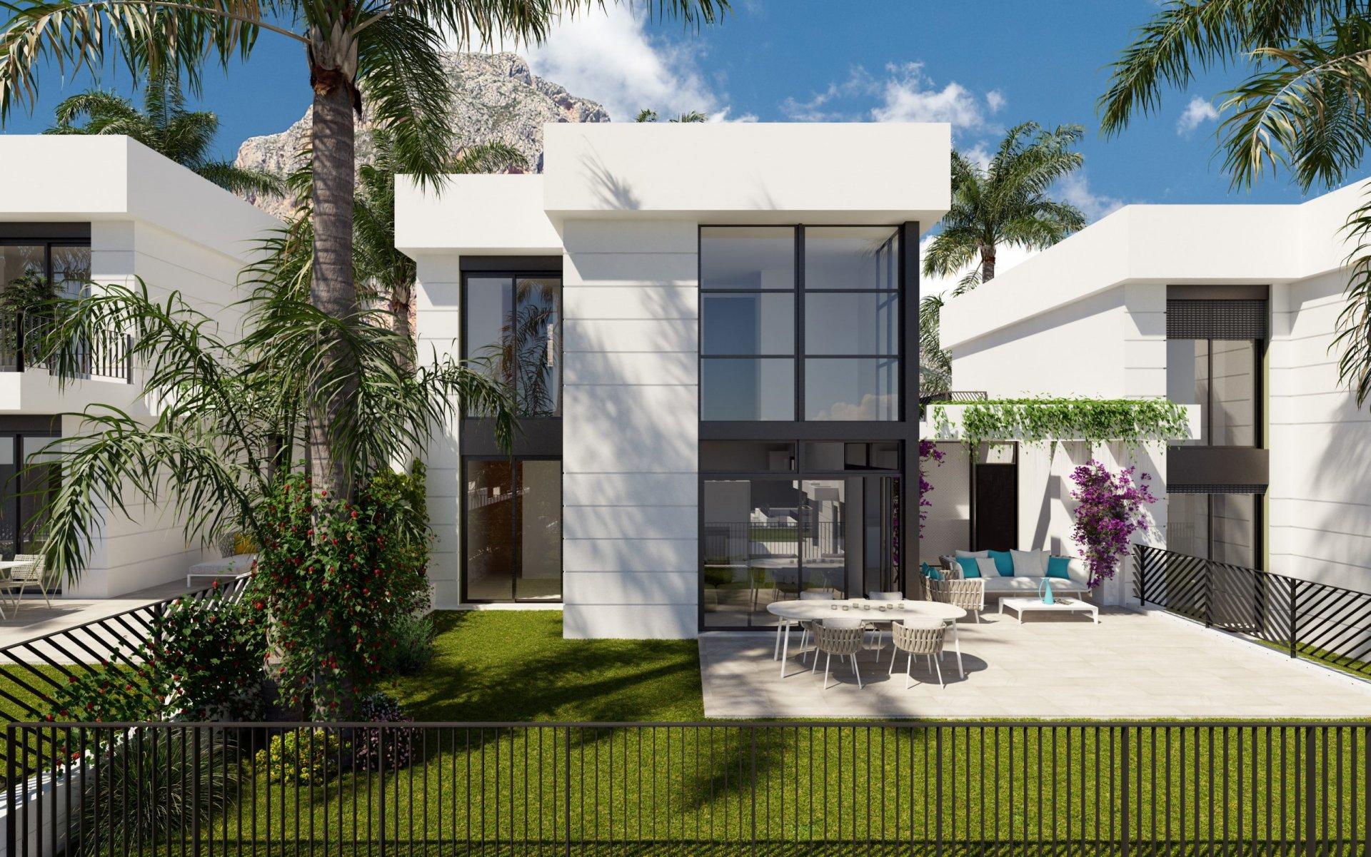 Twee verdiepingen tellende villa met mooi uitzicht