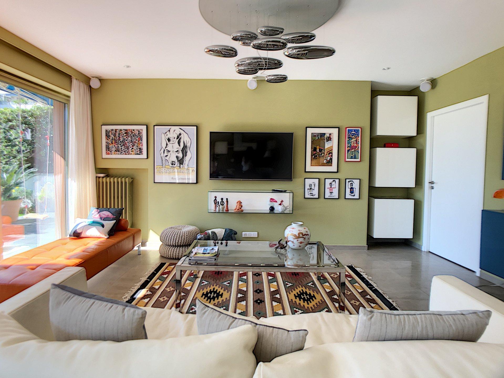Spacious appartement garden floor quiet