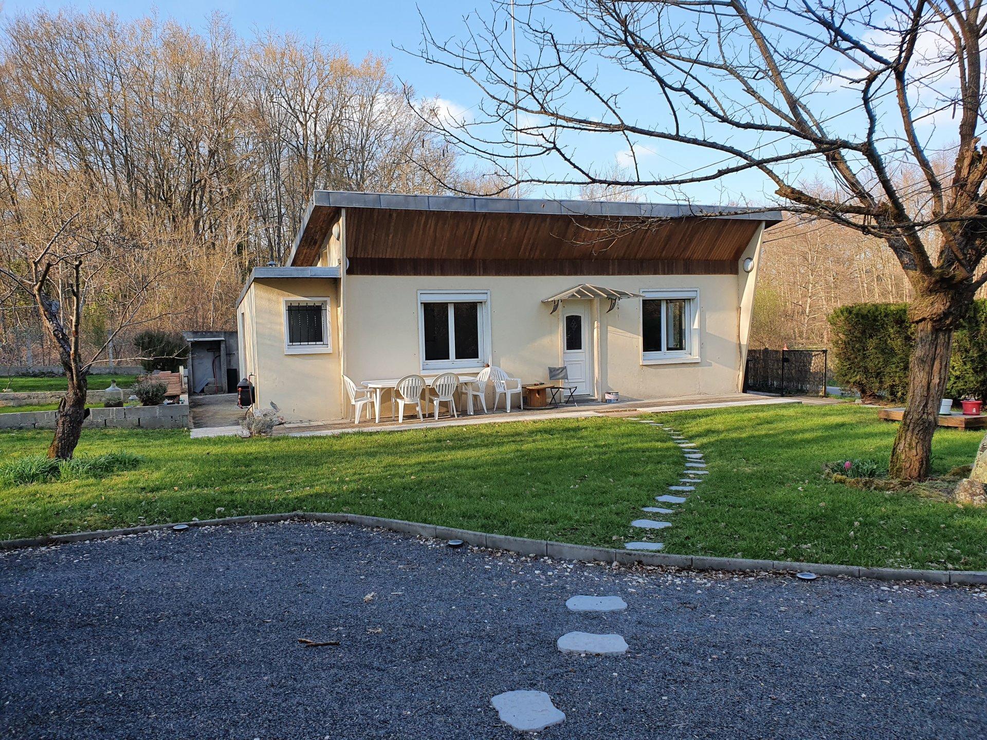 Montigny sur Loing : Maison plain pied 3 pièces 67 m2