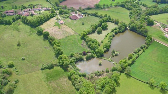 Lake with 2 Houses for sale Near Confolens - Vienne
