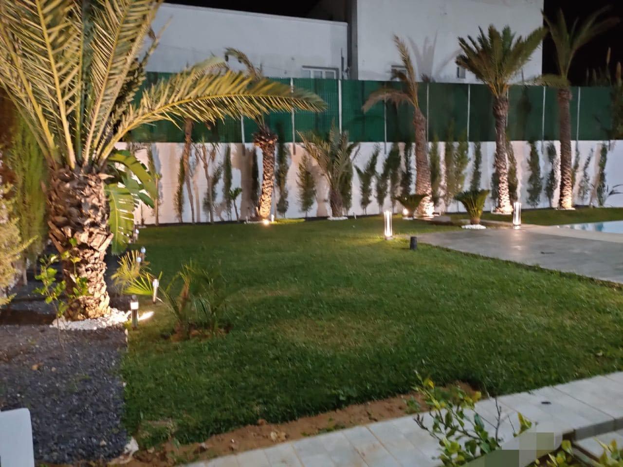 Location Villa meublée avec piscine à Gammarth