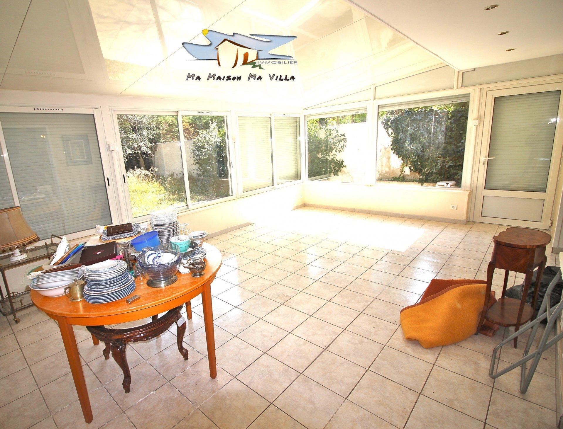 Maison familiale avec jardin + véranda et garage