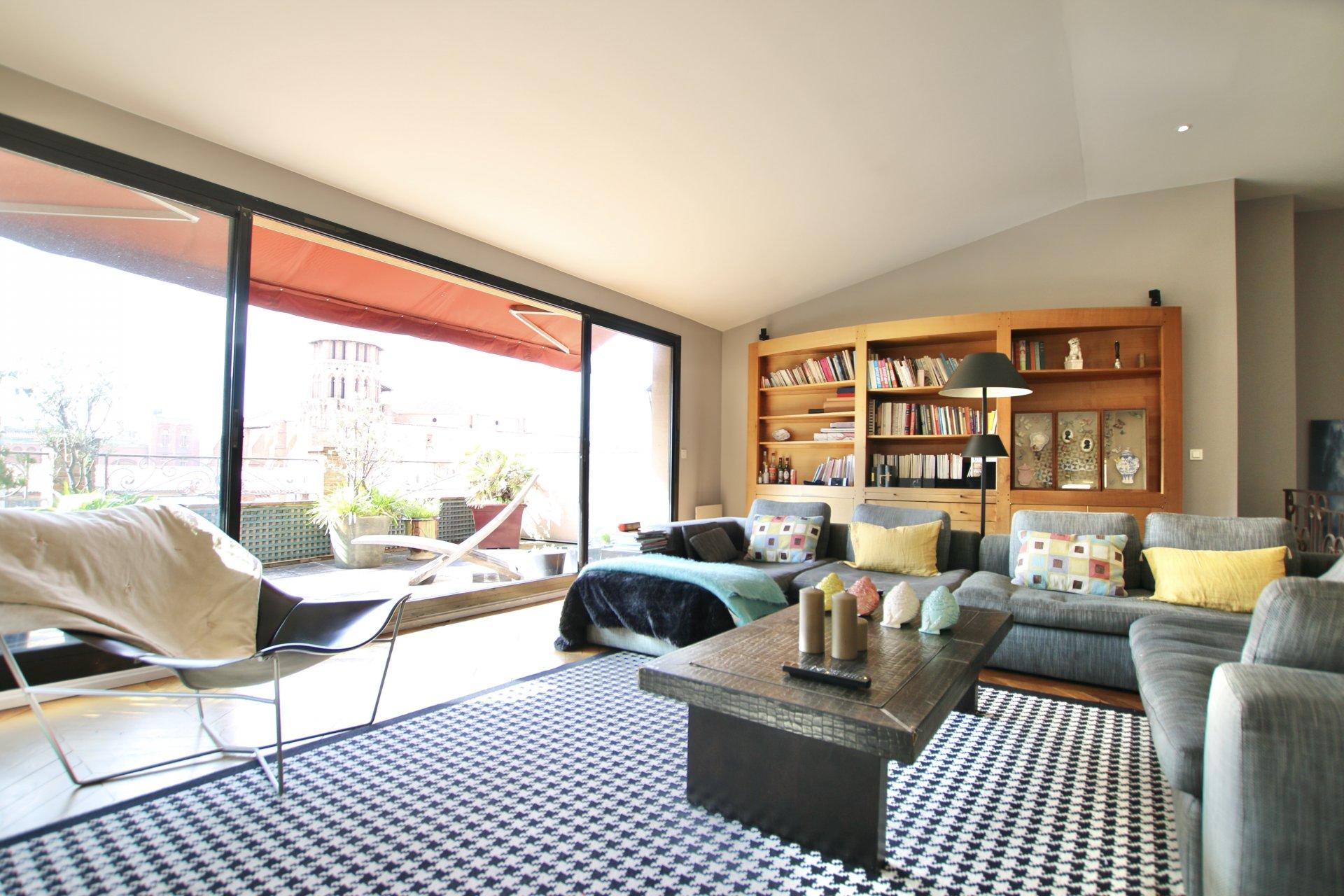 Appartement 170m2 Saint-Etienne / Saint Georges (Terrasse + Garage)