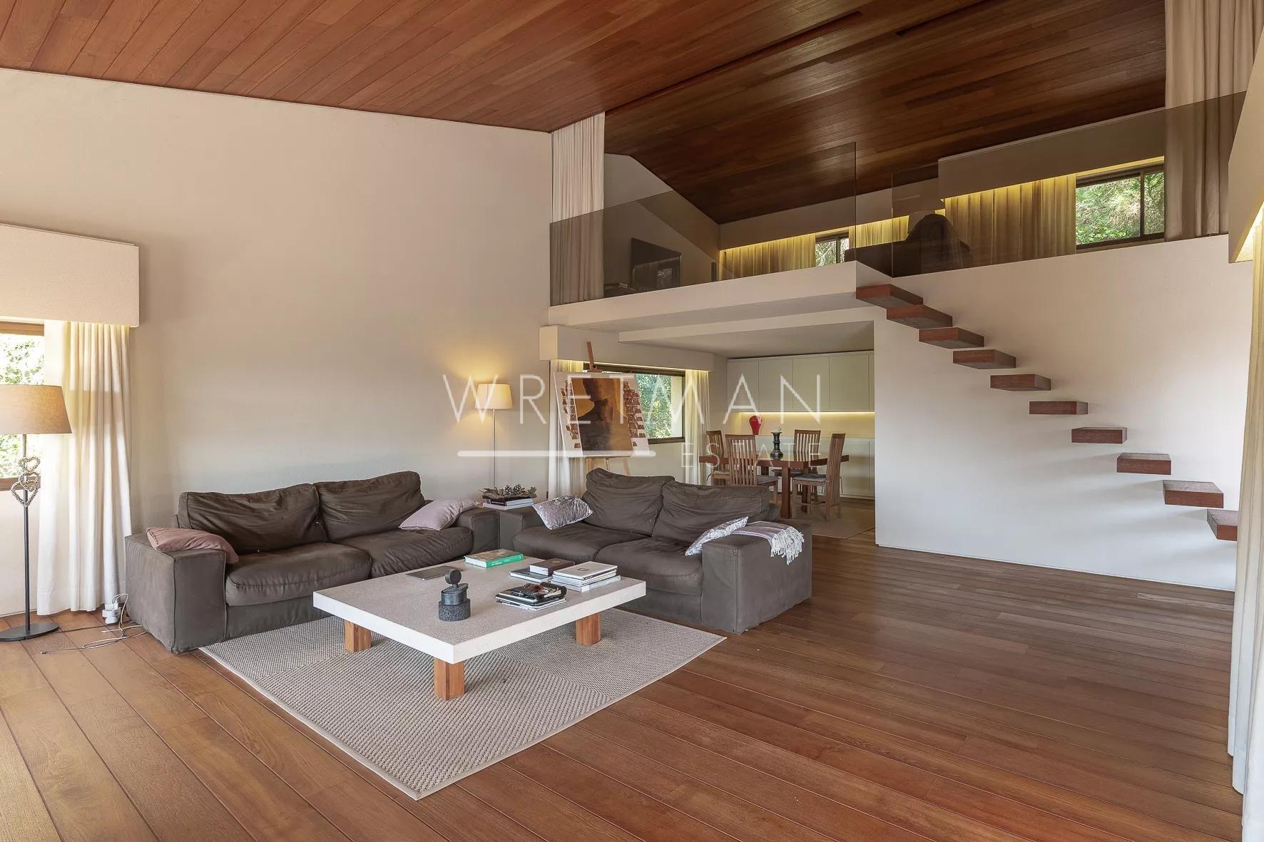 Arkitektritat hus med panoramutsikt - Saint-Paul de Vence