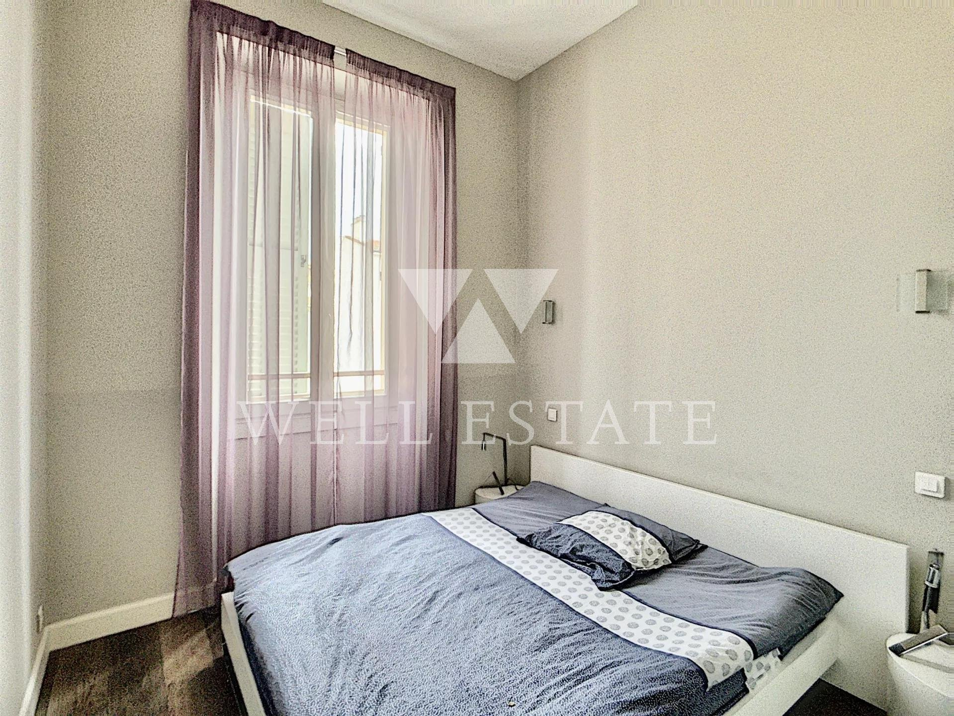 CANNES RUE D'ANTIBES 2 BEDROOM APARTMENT 85M2