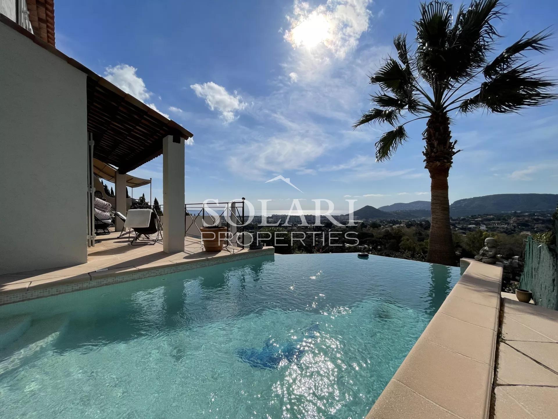 Villa sur les collines de Mandelieu