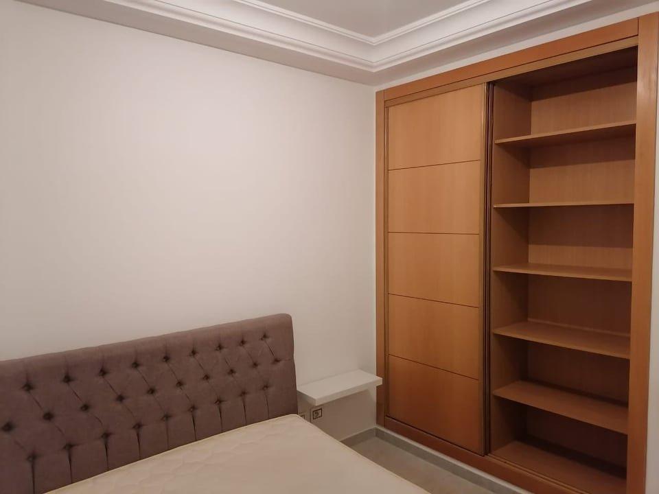 Location Appartement S+2 meublé aux Jardins De Carthage
