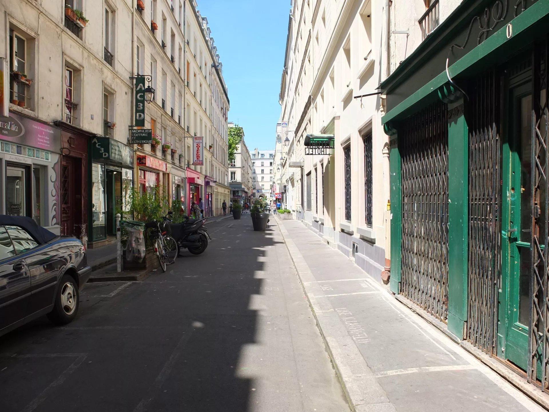 Appartement 3 p Porte Saint Martin