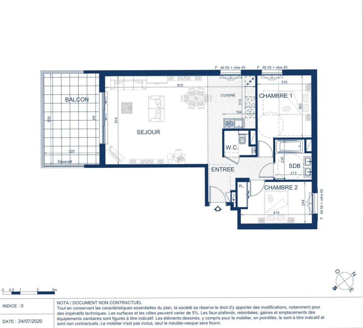 BEAUSOLEIL - Région PACA - Vente Appartement neuf d'exception - Vue mer