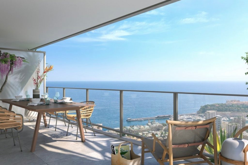 BEAUSOLEIL - French Riviera - 2 Bed apartment with sea view and large terrace